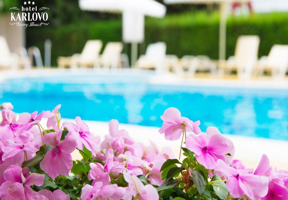Нощувка със закуска на човек + басейн в хотел Карлово, Слънчев бряг, снимка 9