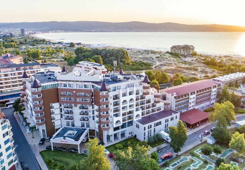 Нощувка на човек на база All Inclusive + СПА процедури + басейн и анимация в хотел Империал Ризорт, Слънчев бряг, снимка 2