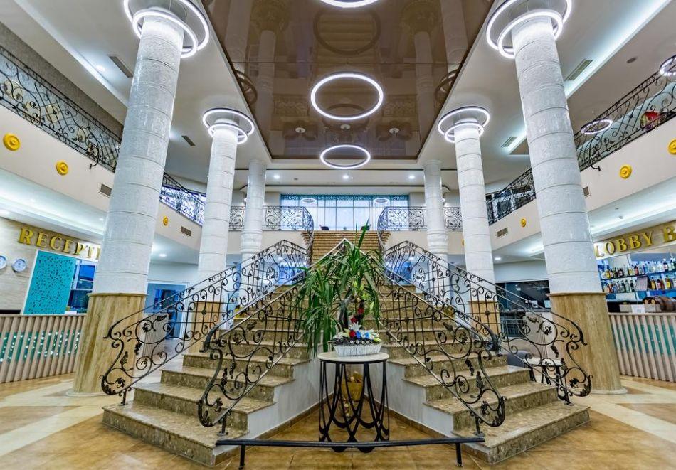 Нощувка на човек на база All Inclusive + СПА процедури + басейн и анимация в хотел Империал Ризорт, Слънчев бряг, снимка 7