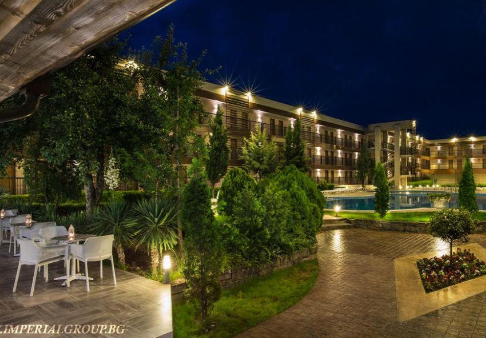 Нощувка на човек на база All Inclusive + СПА процедури + басейн и анимация в хотел Империал Ризорт, Слънчев бряг, снимка 18