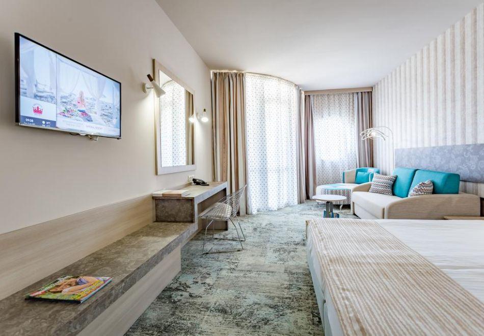 Нощувка на човек на база All Inclusive + СПА процедури + басейн и анимация в хотел Империал Ризорт, Слънчев бряг, снимка 12
