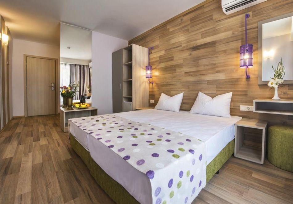 Нощувка на човек на база All Inclusive + СПА процедури + басейн и анимация в хотел Империал Ризорт, Слънчев бряг, снимка 10