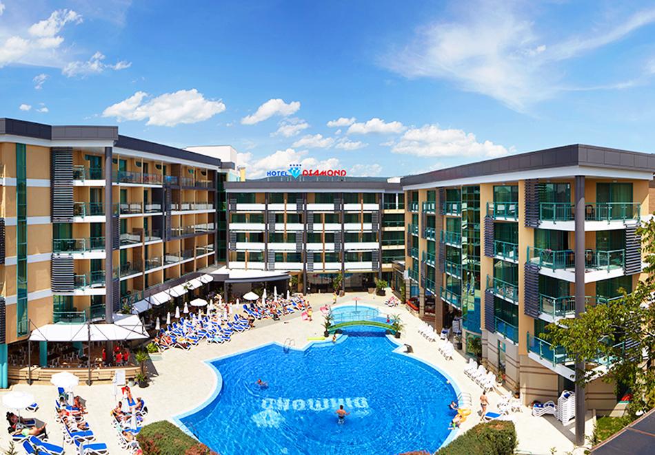 Нощувка на човек на база All Inclusive + басейн в хотел Диамант****, Слънчев бряг. Дете до 12.99 г. - БЕЗПЛАТНО, снимка 3