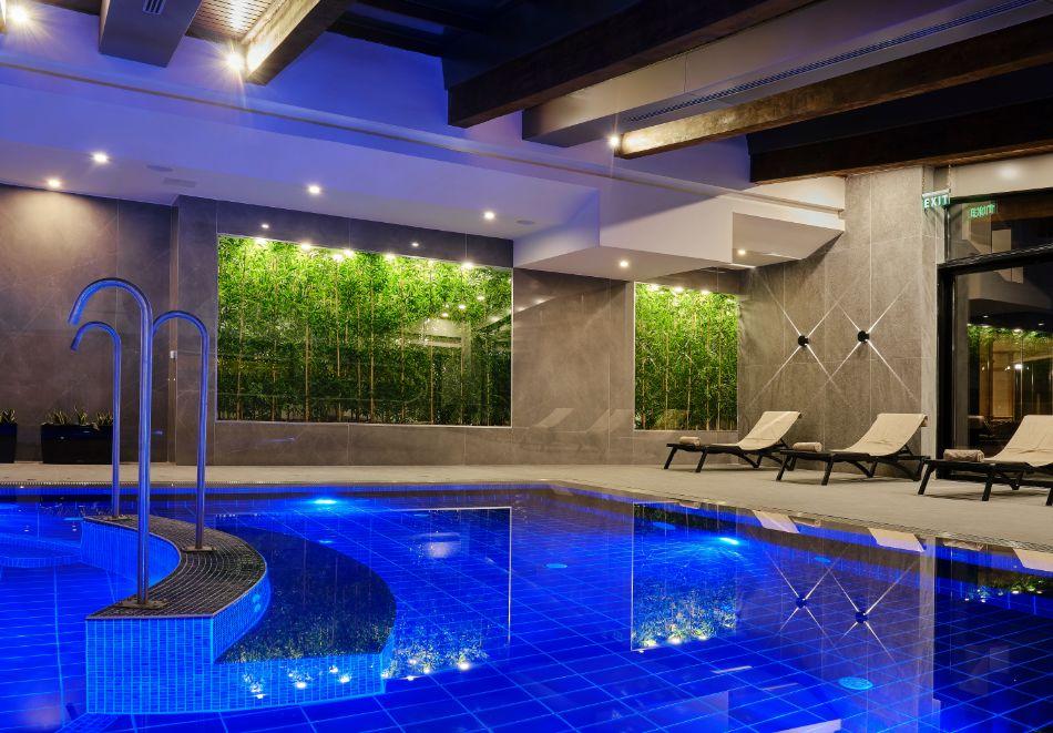 Нощувка на човек на база All inclusive + горещ външен и вътрешен басейн и СПА зона в изцяло реновирания СПА Ризорт Св. Иван Рилски****, Банско, снимка 12