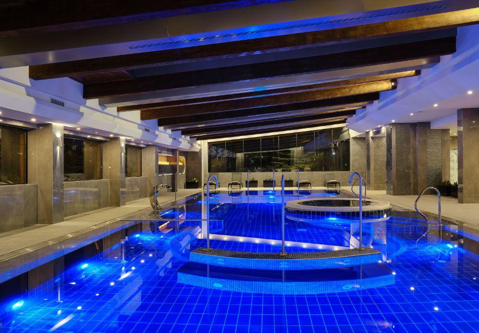 Нощувка на човек на база All inclusive + горещ външен и вътрешен басейн и СПА зона в изцяло реновирания СПА Ризорт Св. Иван Рилски****, Банско, снимка 11