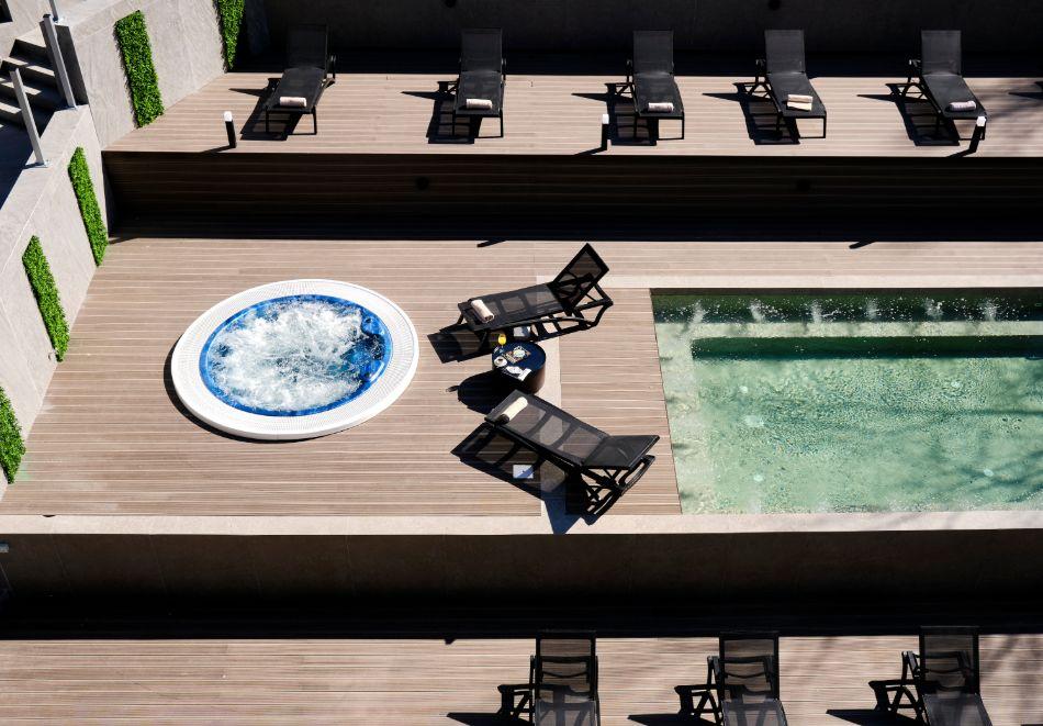 Нощувка на човек на база All inclusive + горещ външен и вътрешен басейн и СПА зона в изцяло реновирания СПА Ризорт Св. Иван Рилски****, Банско, снимка 5