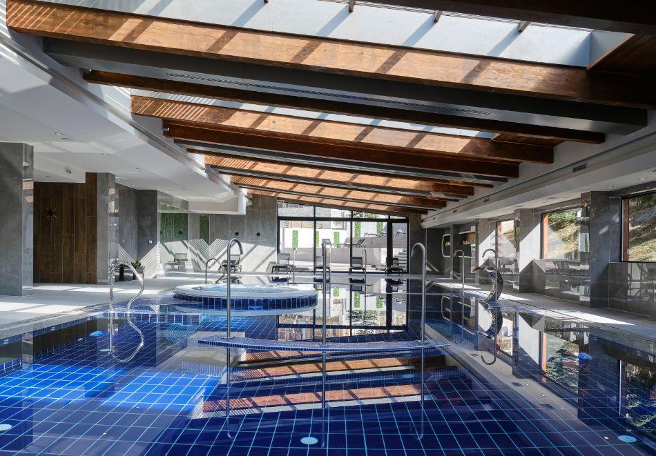 Нощувка на човек на база All inclusive + горещ външен и вътрешен басейн и СПА зона в изцяло реновирания СПА Ризорт Св. Иван Рилски****, Банско, снимка 8