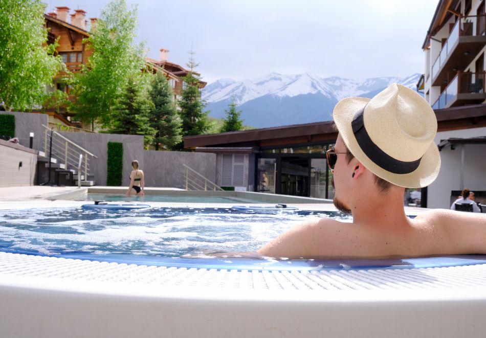 Нощувка на човек на база All inclusive + горещ външен и вътрешен басейн и СПА зона в изцяло реновирания СПА Ризорт Св. Иван Рилски****, Банско, снимка 6