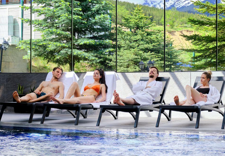 Нощувка на човек на база All inclusive + горещ външен и вътрешен басейн и СПА зона в изцяло реновирания СПА Ризорт Св. Иван Рилски****, Банско, снимка 10