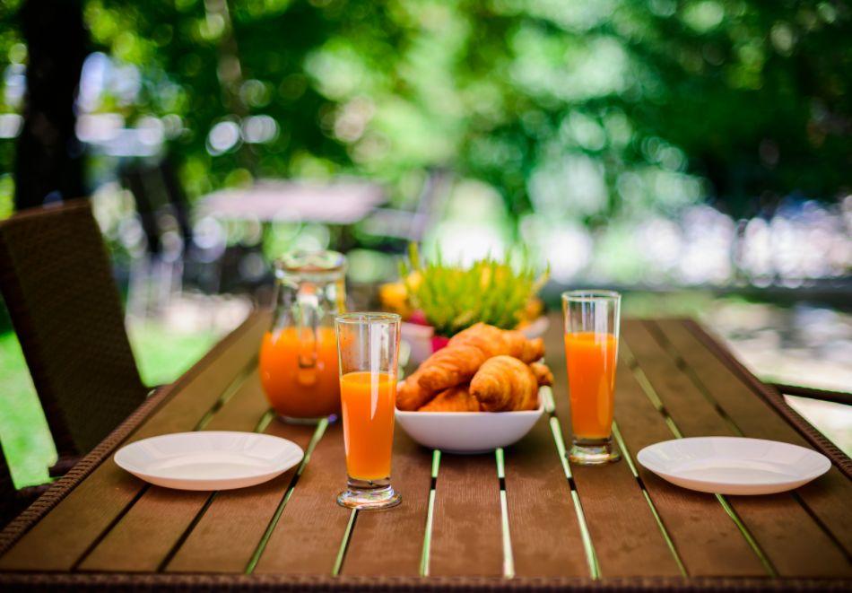 Нощувка със закуска за четирима в апартамент + външен минерален басейн в Къщи за гости Релакс, Огняново, снимка 22