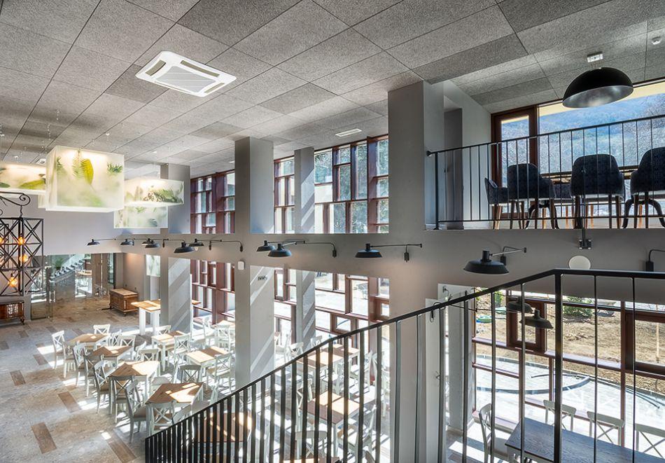 7 нощувки на човек със закуски и вечери + минерални басейни + вход за Аква клуб Котвата и релакс зона в хотел Петте елемента, Сапарева баня, снимка 11