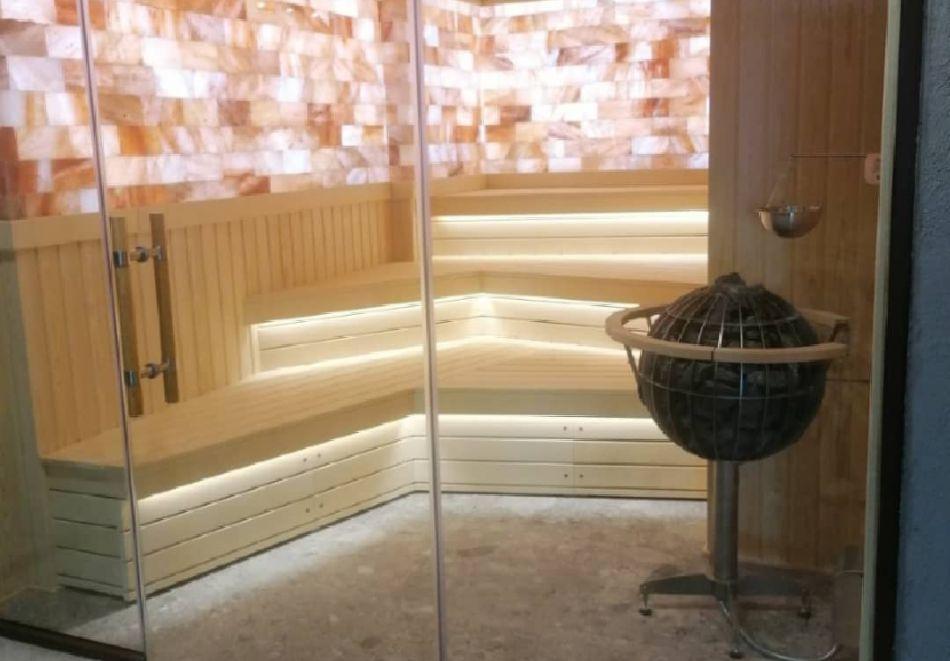 7 нощувки на човек със закуски и вечери + минерални басейни + вход за Аква клуб Котвата и релакс зона в хотел Петте елемента, Сапарева баня, снимка 17