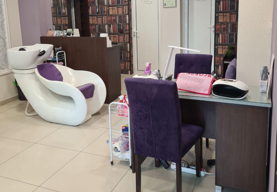 Комбинирана Лифтинг терапия на лице и шия с RF и биолифтинг от Салон за Красота Violett studio, Варна, снимка 5