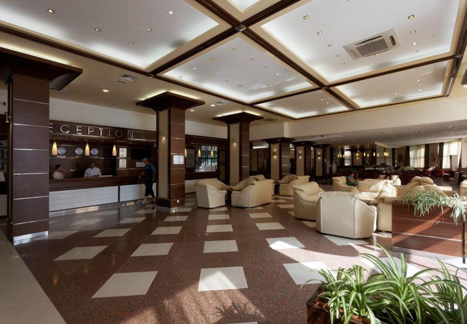 На ПЪРВА ЛИНИЯ в Златни пясъци. Нощувка на човек на база All inclusive + басейн в хотел Калиакра Палас****. Дете до 12 г. - БЕЗПЛАТНО, снимка 18