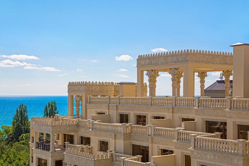 Нощувка на човек на база All inclusive + 4 басейна и паркинг в апартхотел Аргищ Партез****, Златни Пясъци. На 150 м от брега на морето!, снимка 6