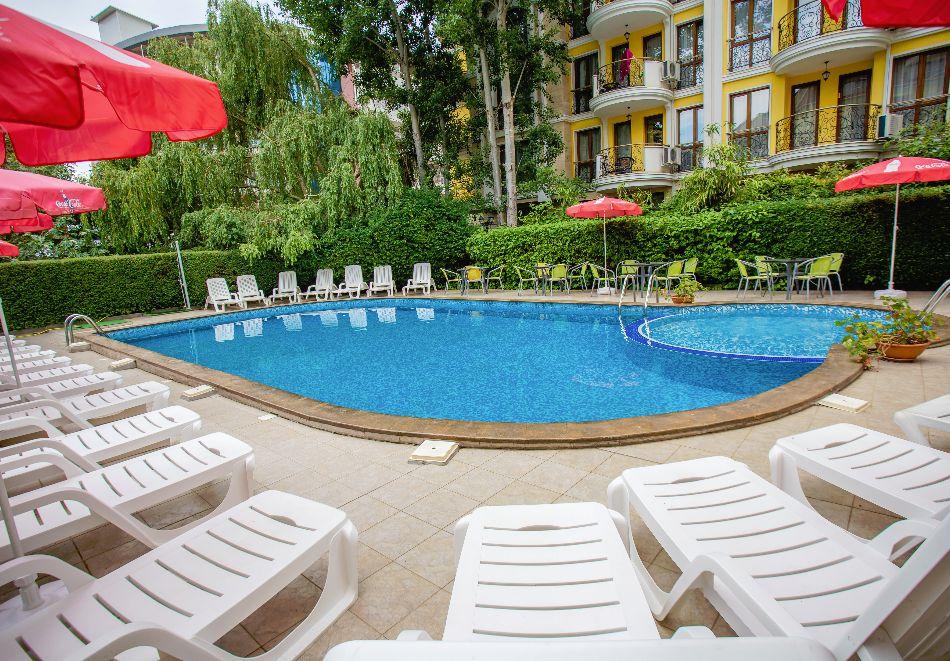 Септември в Слънчев бряг! 3 нощувки на човек на база All inclusive в хотел Дева, снимка 24