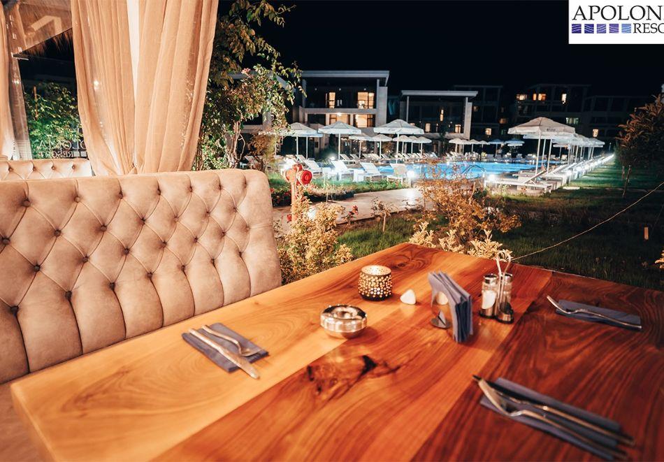 На първа линия в Созопол! Нощувка на човек със закуска + басейни от Хотел Аполония Ризорт****, снимка 19