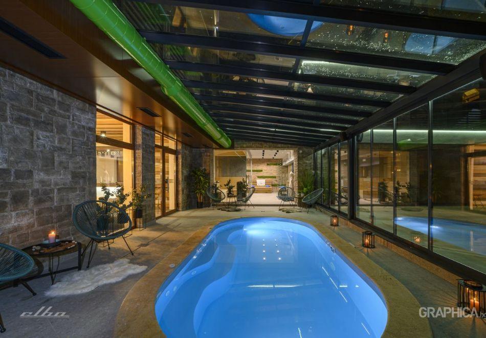 Нощувка със закуска на човек + басейн с подсолена вода и СПА в Семеен Хотел 103 Алпин, Паничище, снимка 5