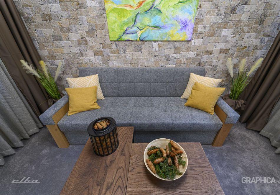 Нощувка със закуска на човек + басейн с подсолена вода и СПА в Семеен Хотел 103 Алпин, Паничище, снимка 19