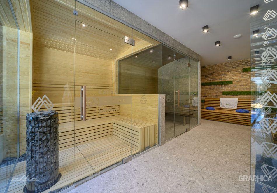 Нощувка със закуска на човек + басейн с подсолена вода и СПА в Семеен Хотел 103 Алпин, Паничище, снимка 17