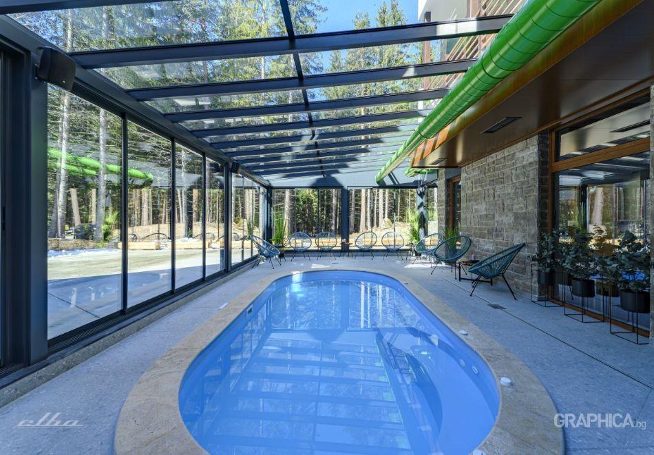 Нощувка със закуска на човек + басейн с подсолена вода и СПА в Семеен Хотел 103 Алпин, Паничище, снимка 4