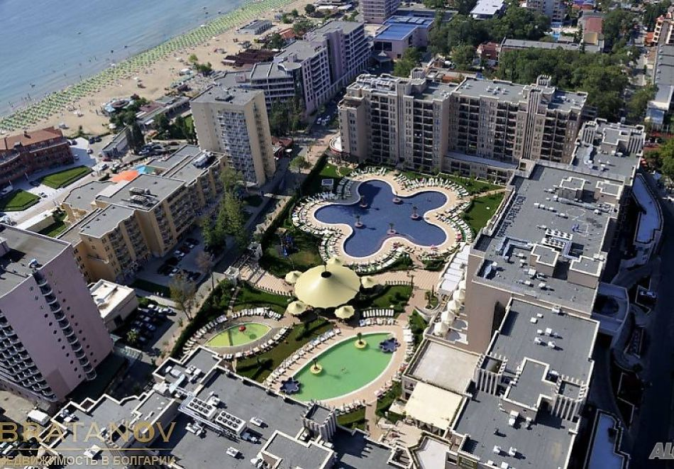 4, 5, 6 или 7 нощувки за двама + 1 дете + 4 басейна и релакс зона от Студио АРЕНДО в комплекс Роял Бийч Барсело, Слънчев бряг, снимка 4