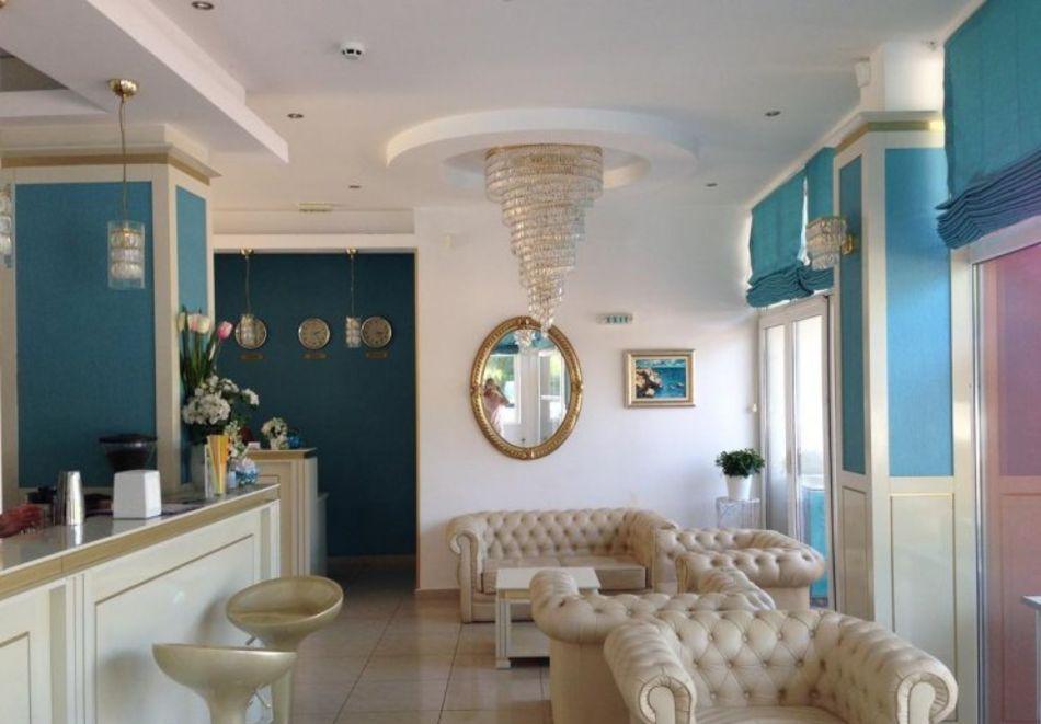 Нощувка за 5-ма в апартамент с гледка море + басейн от хотел Руби, Слънчев бряг, снимка 13