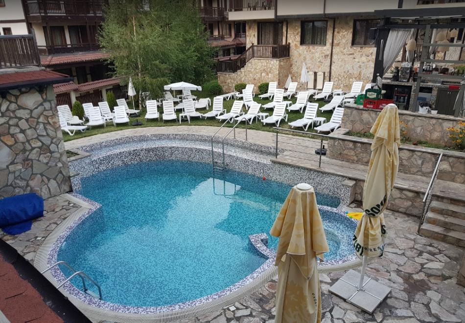 2 или 3 нощувки на човек на база All inclusive light + външен и вътрешен басейн, сауна и парна баня от хотел Мария Антоанета, Банско, снимка 8
