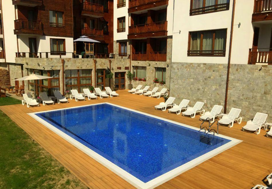 Нощувка на човек на база All Inclusive + 2 басейна  и релакс зона в хотел Евъргрийн, Банско. Дете до 11.99 г. БЕЗПЛАТНО!, снимка 2
