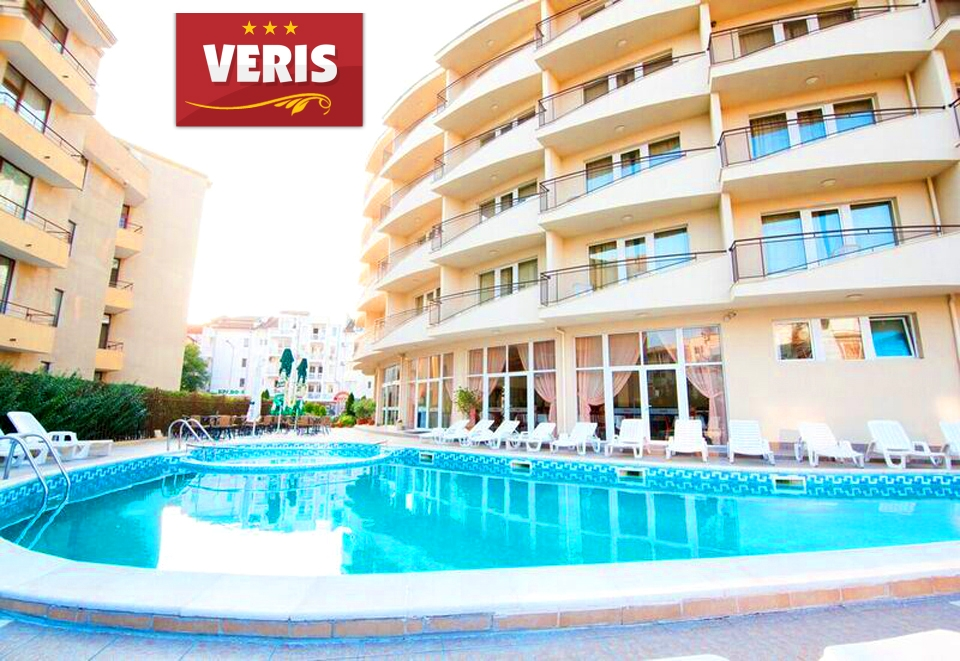 Късно лято в Слънчев бряг! 3+ нощувки на човек + басейн в хотел Верис, снимка 3