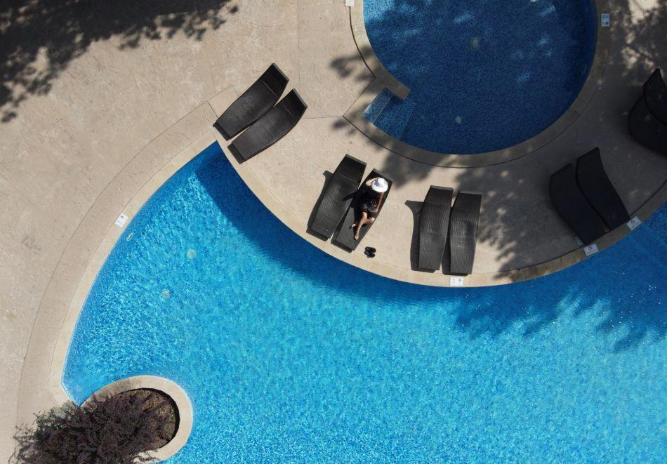 Нощувка на човек на базаUltra All Inclusive + басейн, чадър и шезлонг на плажа от хотел Аполо Спа Ризорт, Златни Пясъци. Дете до 11.99г. БЕЗПЛАТНО!, снимка 5