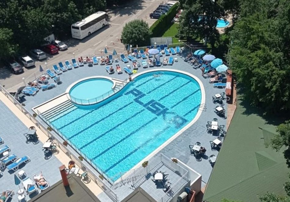 Нощувка на човек на база All Inclusive + топъл вътрешен басейн и релакс зона в хотел Плиска***, Златни пясъци. Дете до 12г. - БЕЗПЛАТНО!, снимка 3