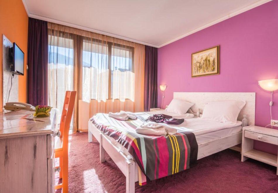 Нощувка на човек на база All Inclusive + вътрешен басейн и релакс пакет от хотел Грами***, Банско, снимка 9