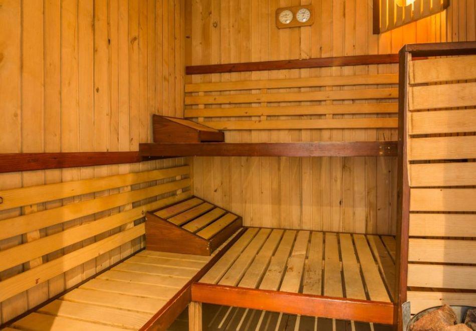 Нощувка на човек на база All Inclusive + вътрешен басейн и релакс пакет от хотел Грами***, Банско, снимка 10