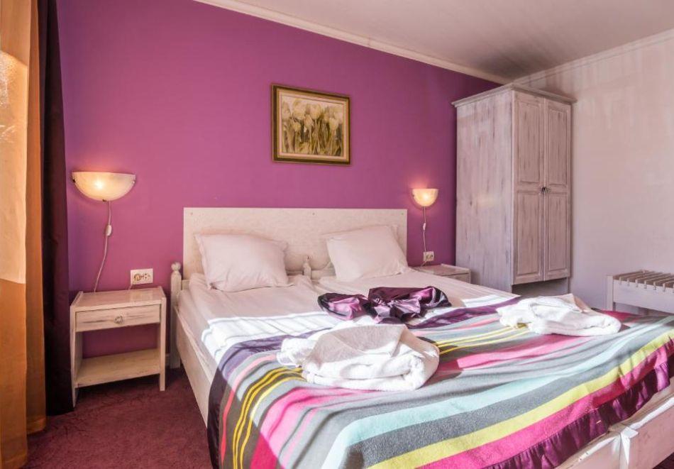 Нощувка на човек на база All Inclusive + вътрешен басейн и релакс пакет от хотел Грами***, Банско, снимка 8