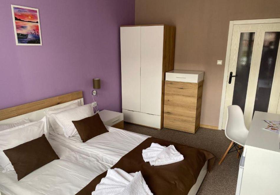Нощувка на човек на база All Inclusive + вътрешен басейн и релакс пакет от хотел Грами***, Банско, снимка 5