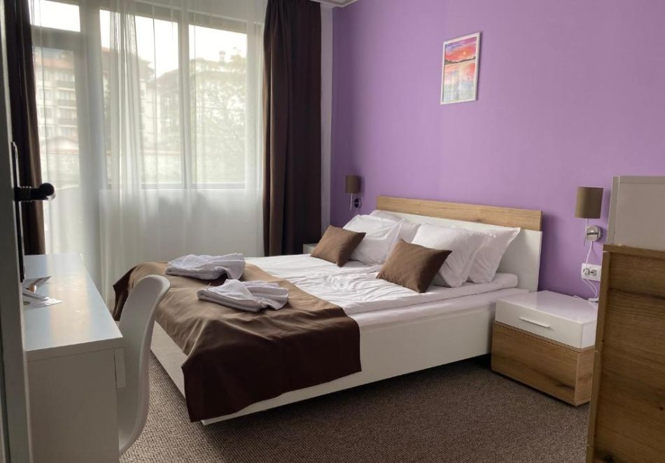 Нощувка на човек на база All Inclusive + вътрешен басейн и релакс пакет от хотел Грами***, Банско, снимка 7