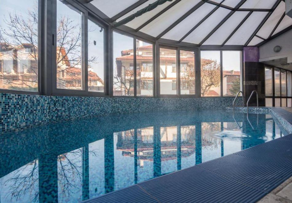 Нощувка на човек на база All Inclusive + вътрешен басейн и релакс пакет от хотел Грами***, Банско, снимка 3