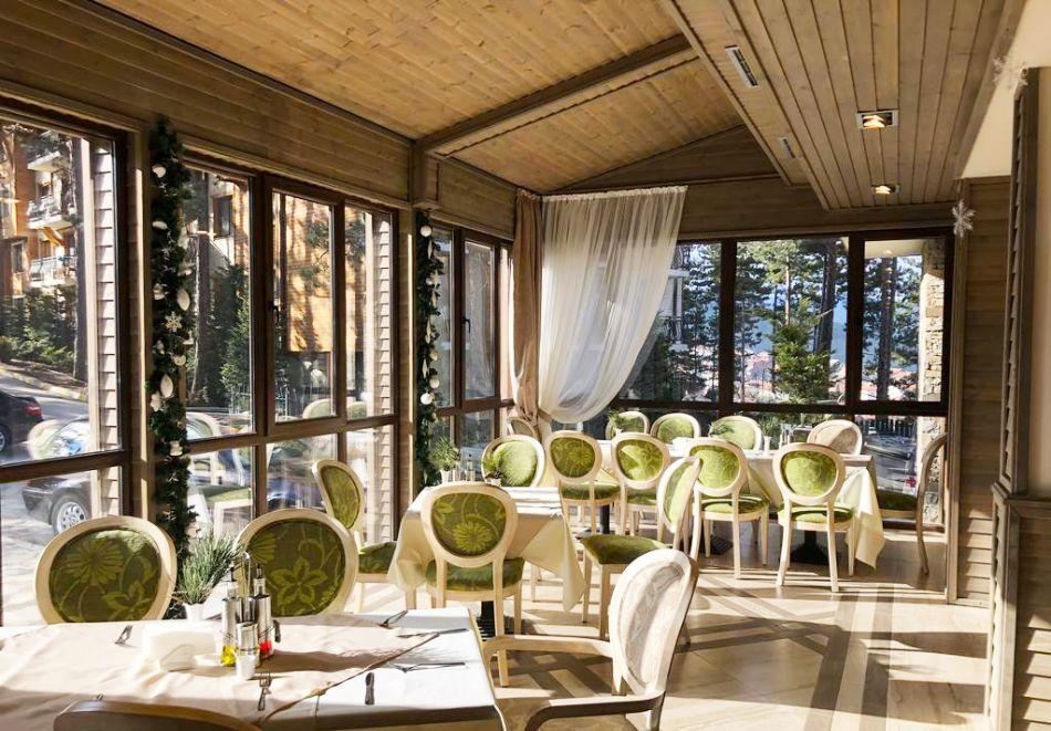 5 нощувки със закуски и вечери на човек + минерален басейн и процедури с предоставяне на направление № 3  в Балнео Комплекс Панорама, Велинград, снимка 13