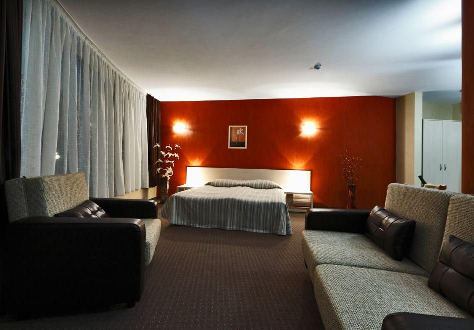 Нощувка на човек + минерален басейн и релакс зона от хотел Евридика, Девин, снимка 15