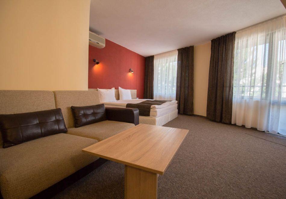 Нощувка на човек + минерален басейн и релакс зона от хотел Евридика, Девин, снимка 17