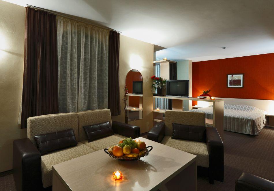 Нощувка на човек + минерален басейн и релакс зона от хотел Евридика, Девин, снимка 20