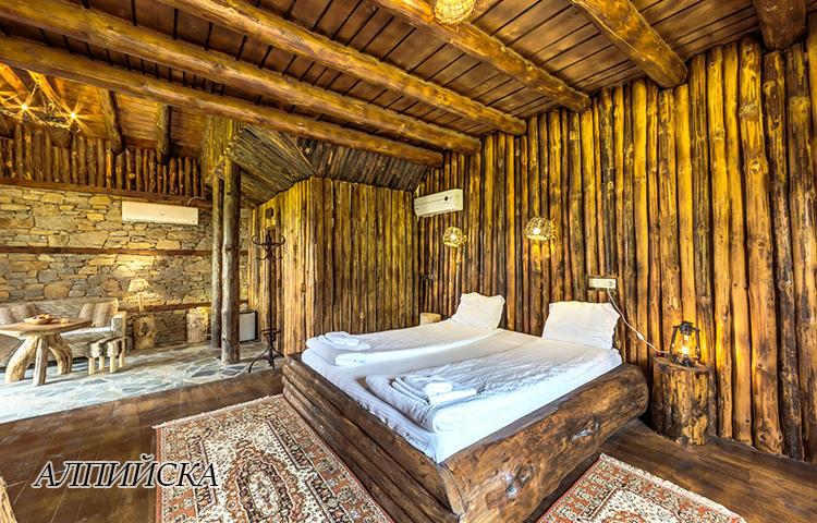 Нощувка в еко къщичка със закуска на човек + басейн с минерална вода и релакс зона от хотел Роял Валентина Касъл, Огняново, снимка 9