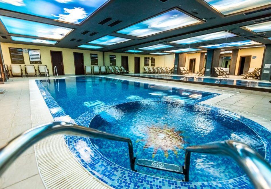 Нова година в Банско! 3 или 4 нощувки на човек със закуски и вечери, едната празнична + басейн и СПА в Парк хотел Гардения****, снимка 3
