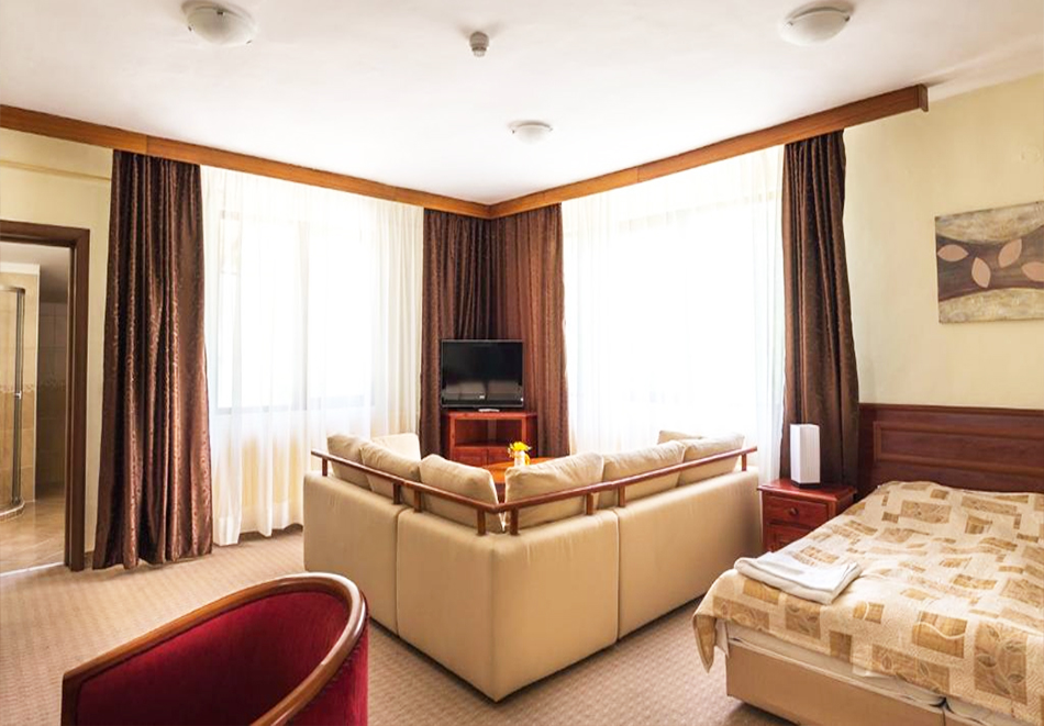 Две или три нощувки на човек със закуски + басейн и солна стая в хотел Елина***, Пампорово, снимка 11