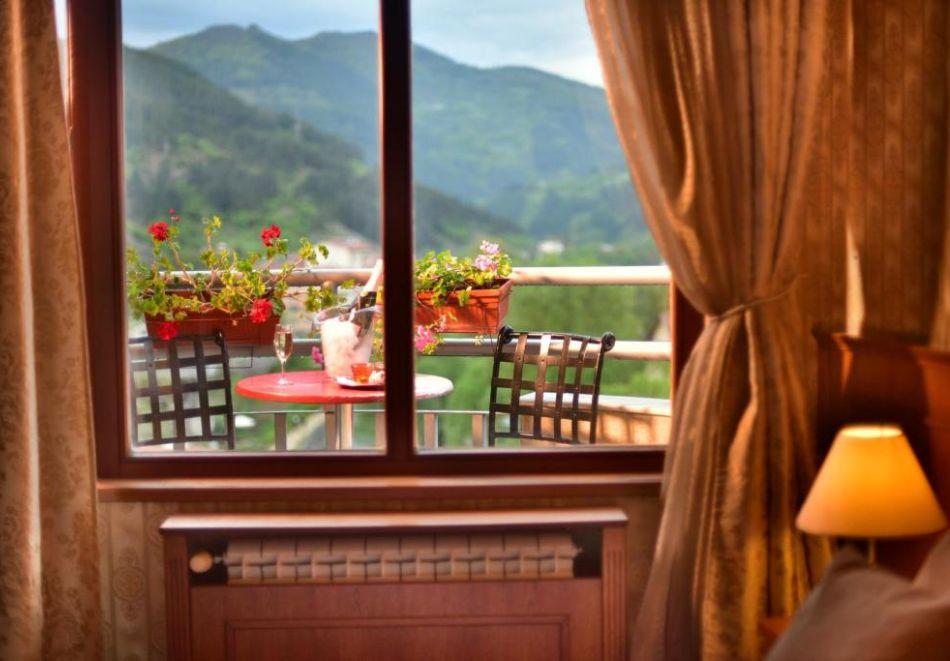 Нощувка на човек със закуска и вечеря + релакс пакет в Семеен хотел Маунтин Бутик, Девин, снимка 16