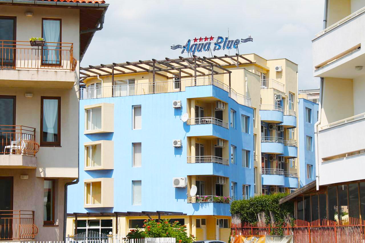 Хотел Аква Блу, Слънчев бряг