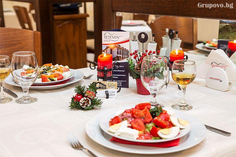 Нощувка на човек със закуска, обяд* и вечеря + сауна в хотел Тетевен, снимка 12