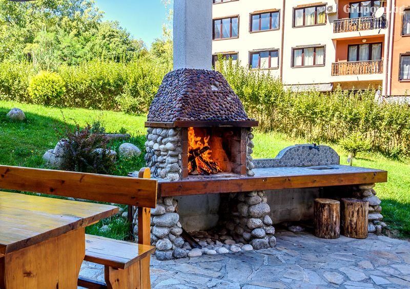 Нощувка на човек в едноспален апартамент със закуска + отопляем басей  и релакс зона в хотел Евъргрийн, Банско, снимка 14