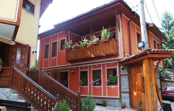 Тодорини Къщи, Копривщица